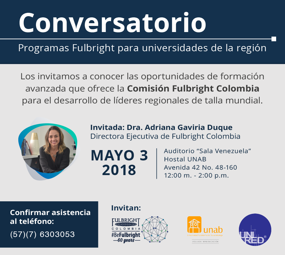 Invitacion Portafolio Fulbright UPB Unired
