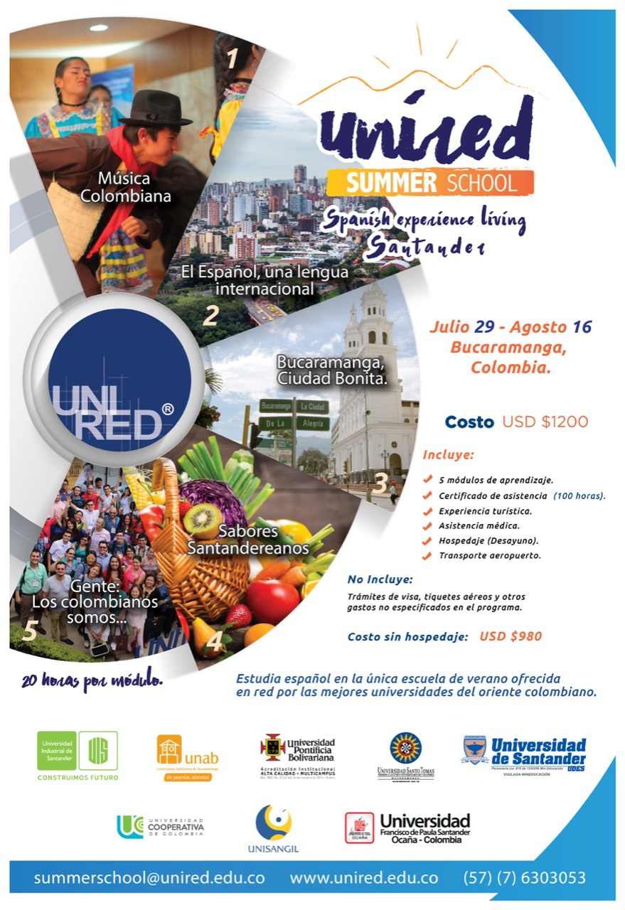 afiche unired summer school